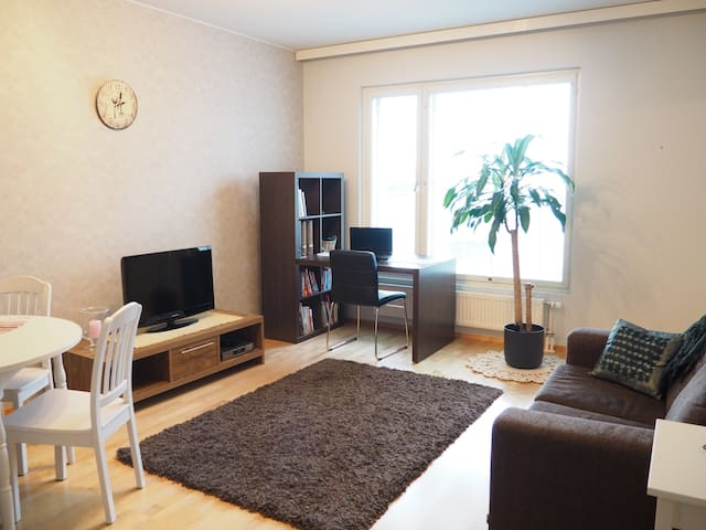 Furnished 1 bdrm + sauna + balcony - Tampere - Departamento