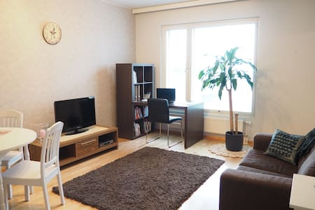Furnished 1 bdrm + sauna + balcony - Tampere