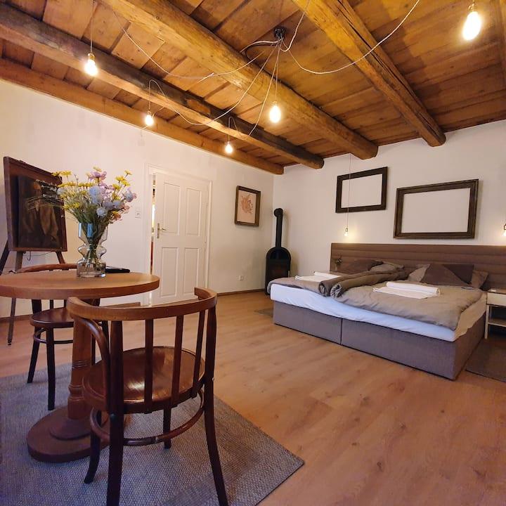 Corte Apartman Nyugalmas pihenés Pápa belvárosában