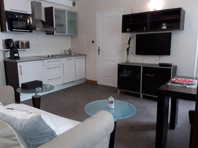 Appartement design à  la Madeleine  bail mobilité