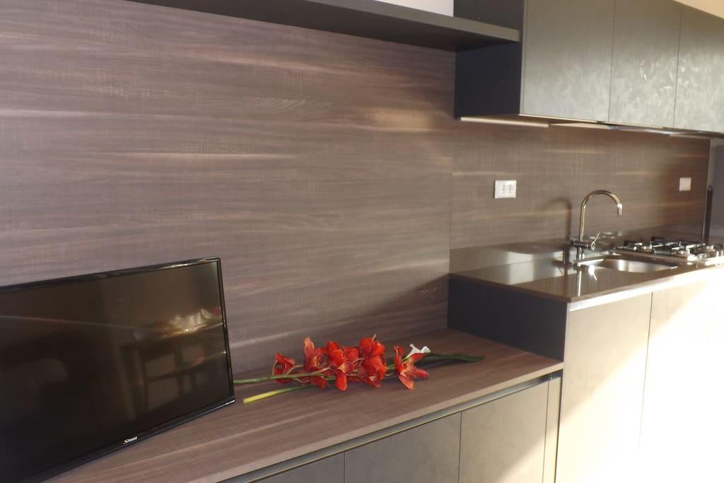 Cucina in stile moderno Kitchen in modern style..