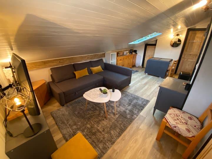 Petit appartement cosy et convivial