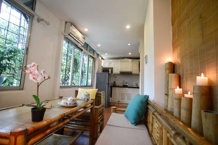 Relaxed Bamboo House- L'Hanoienne - Central Town