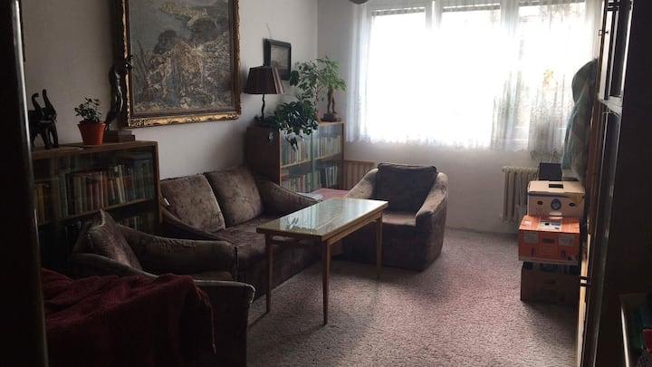 Studentský byt - obývák
