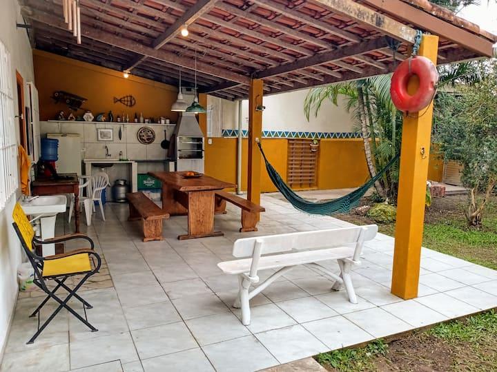 Casa em Peruíbe, litoral sul de SP.
