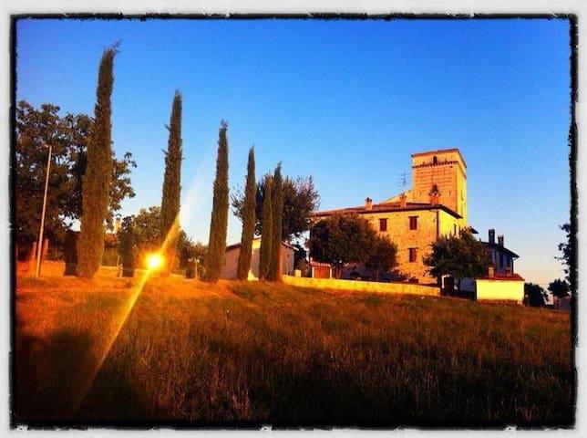 La Rocca di Castel Rinaldi, Massa Martana, Umbria - Castel Rinaldi - Apartamento