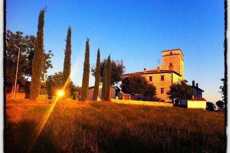 La Rocca di Castel Rinaldi, Massa Martana, Umbria - Castel Rinaldi - Apartemen