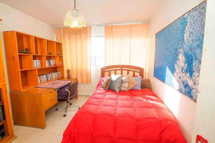 Cómoda y amplia habitación, luminosa en Coyoacan