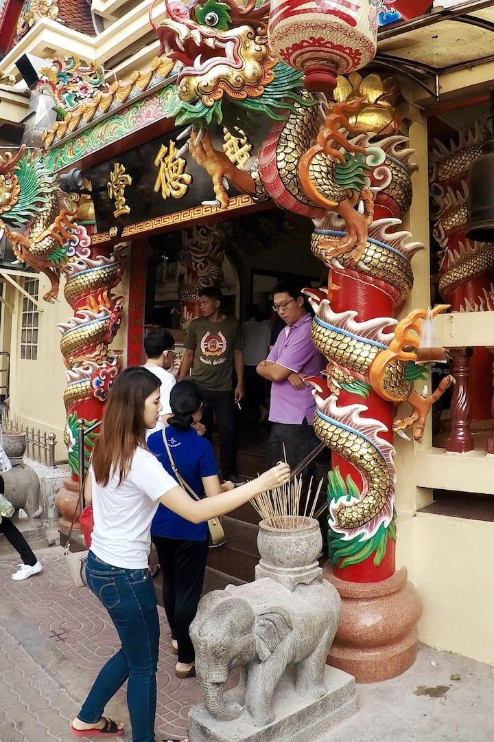 Dscover the beautiful Thai culture