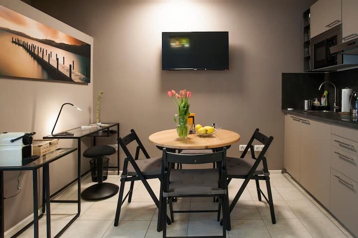 Modern cozy studio apartment Messe/Arena(1)