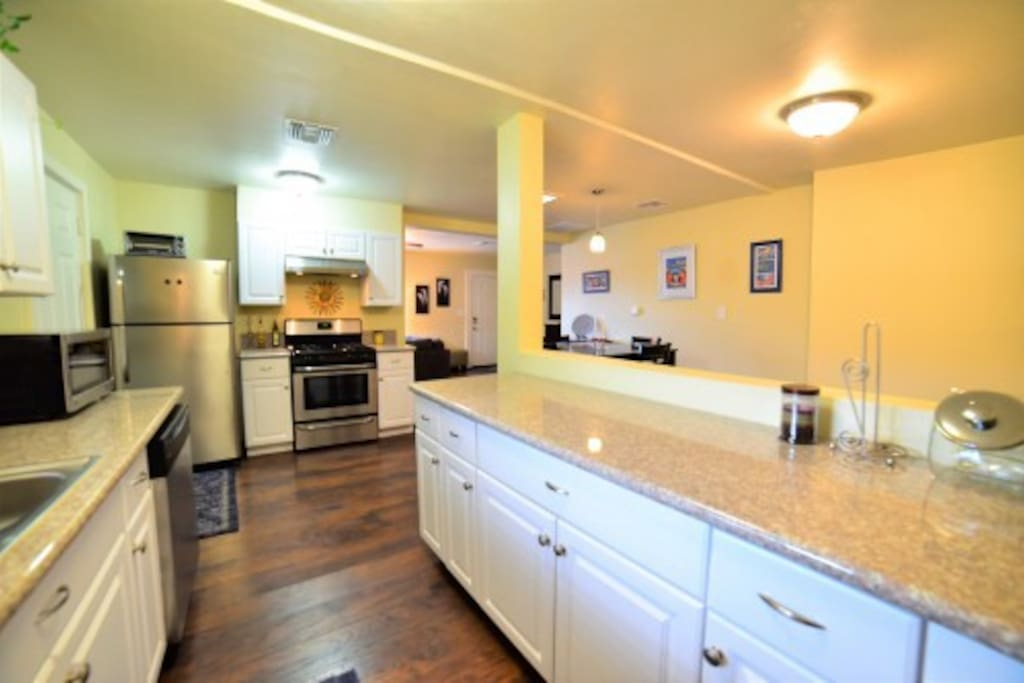 Fully equipped, re-modeled kitchen for everything you'll need during your stay
