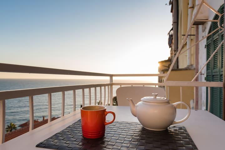 Italian Riviera - Liguria - Casa Zen - Luxury - Porto Maurizio - อพาร์ทเมนท์