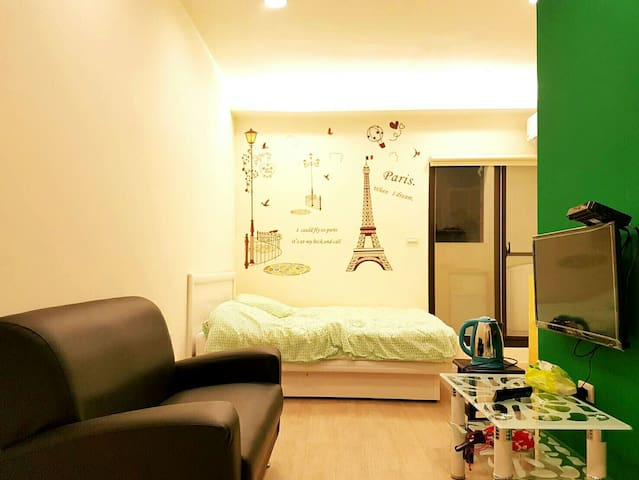 【夢想巴黎】 近基隆廟口 附近有室內停車場 地點優交通便利 - 基隆市 - Appartement