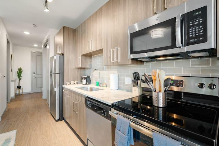 Kasa   Arlington   Stylish Studio Apartment
