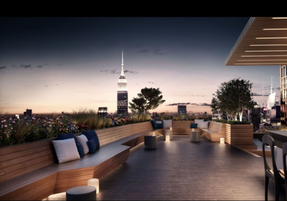 Luxury High Rise With Amazing Private Terrace Apartments