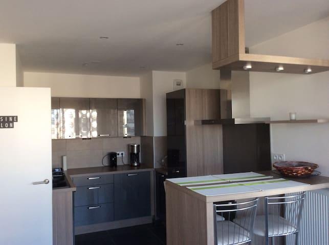 Appartement T2 de 49 m2 avec Terrasse à Tours
