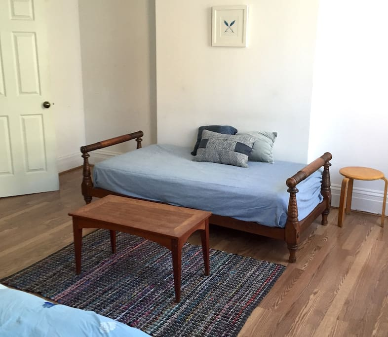 twin daybed in living room