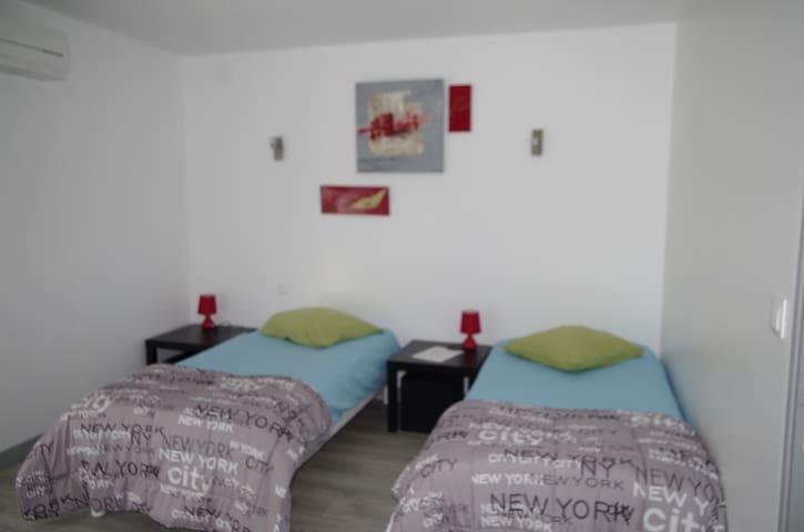 Appartement N°1 Blanc Le Bon Mat'Ain