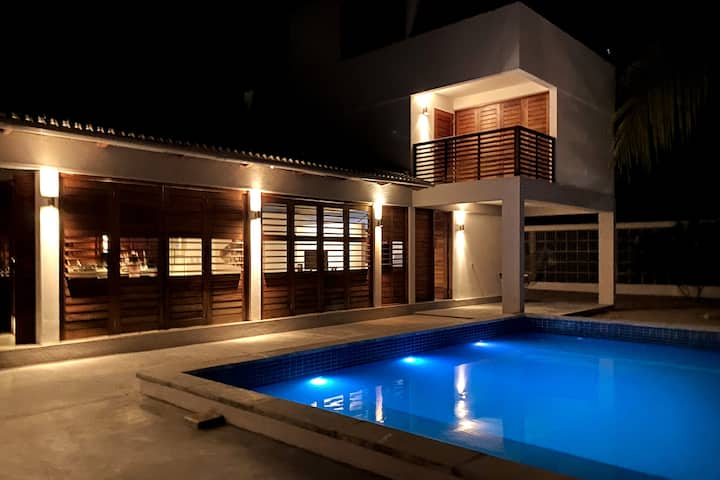 Stunning Tropical Beach Villa with Private Pool