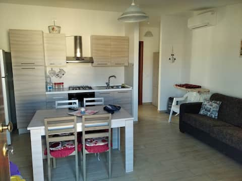 Apartment only 150 m from the sea