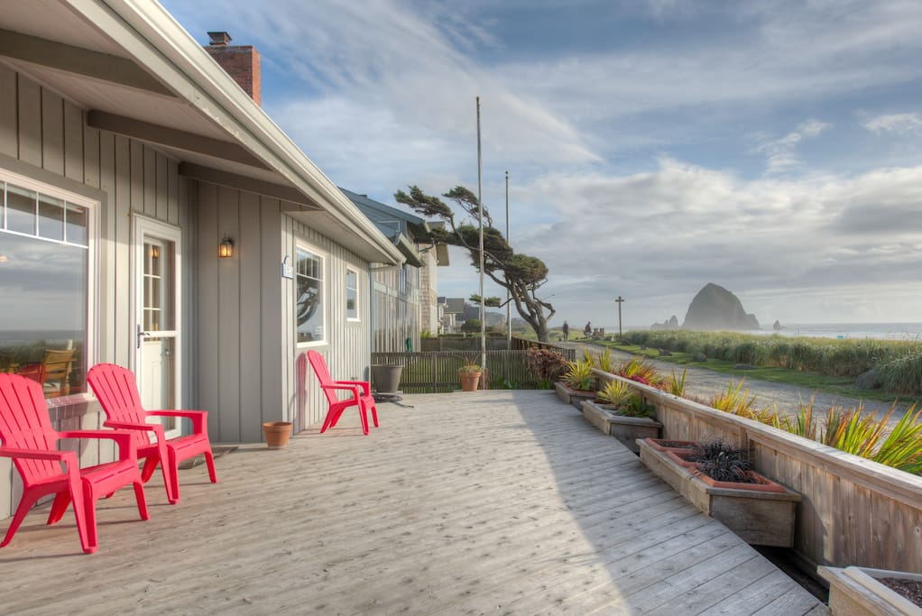 Captivating ocean views houses for rent in cannon beach for Beach house rentals cannon beach