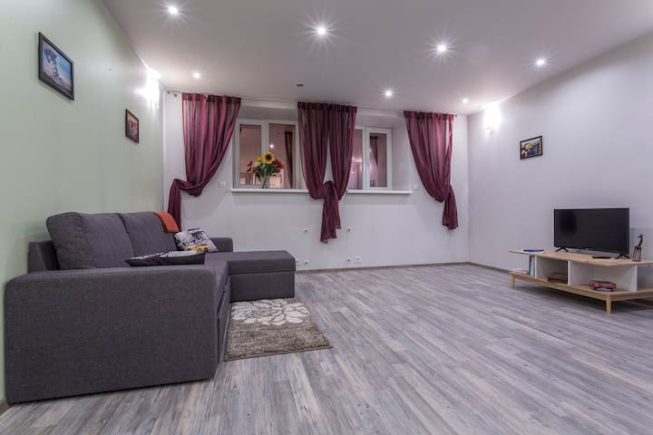 BEST CHOICE for Riga explorers. Big flat in center