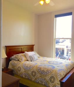 One Bedroom on Union Street w Queen size bed - San Francisco - Apartment