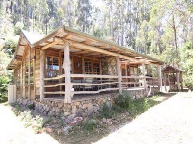 Briagolong High Country Log Cabin - Woolenook - Huis