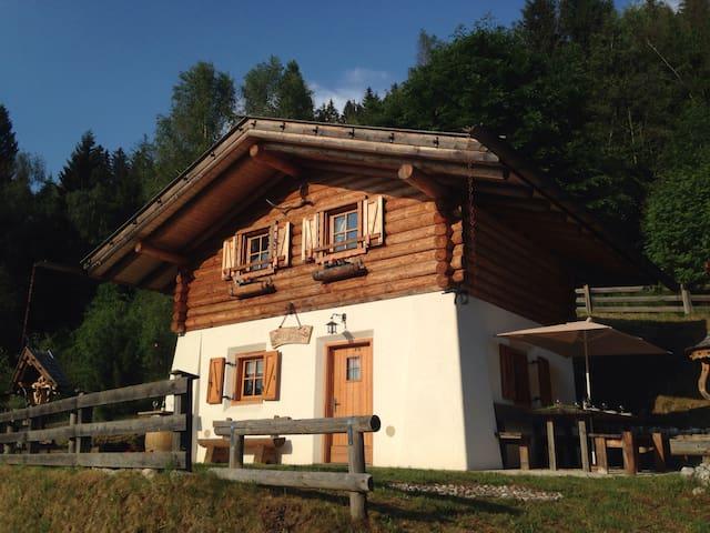 Baita del Nonno dei Pitoi in Trentino
