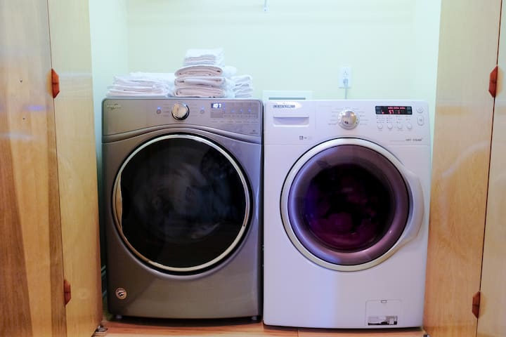 Huge washer and dryer