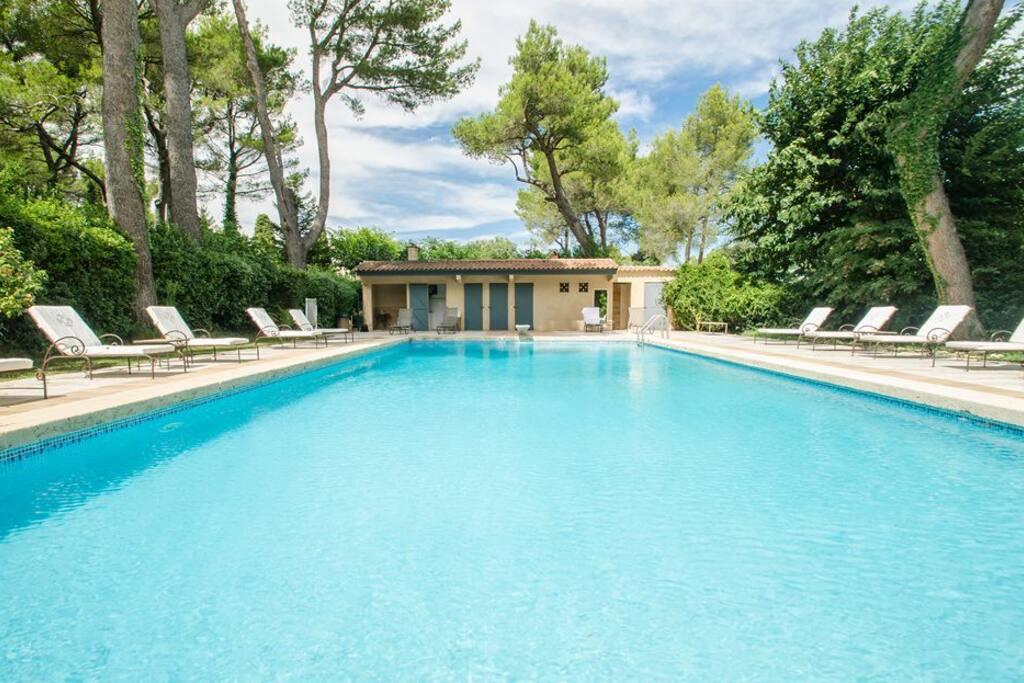 La piscine du Manoir vous est ouverte