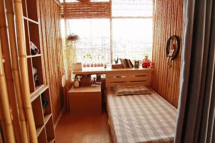 【城市山居·女单间RM01·法秘】回归内心的寂静处,学习和体验简单生活之道 - Xangai - Casa