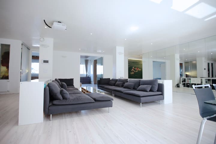 200sqm luxury loft in Trieste, COOLEST IN TOWN! - Trieste - Apartamento