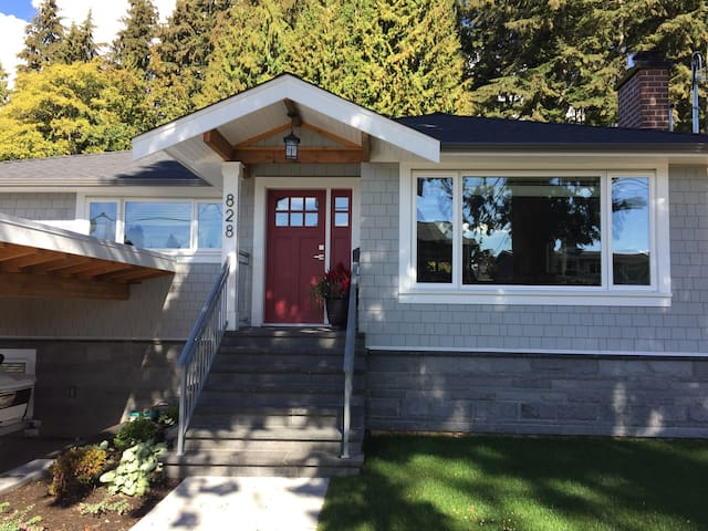 Newly renovated garden suite in Central North Van - North Vancouver - Rumah