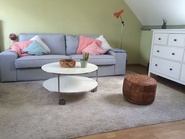 Light and cosy attic room - Hove