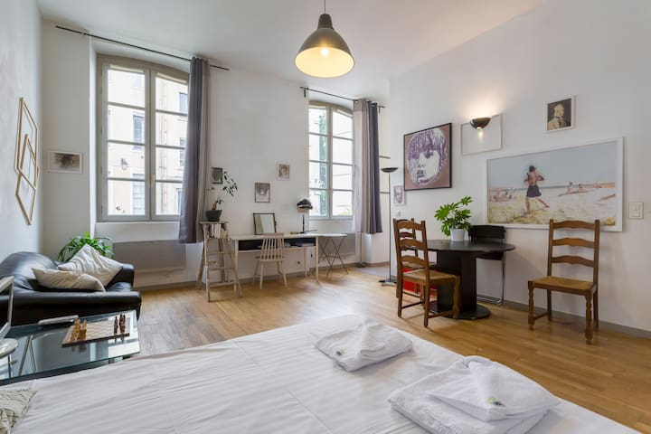SPACIOUS AND MODERN STUDIO IN THE HEART OF LYON