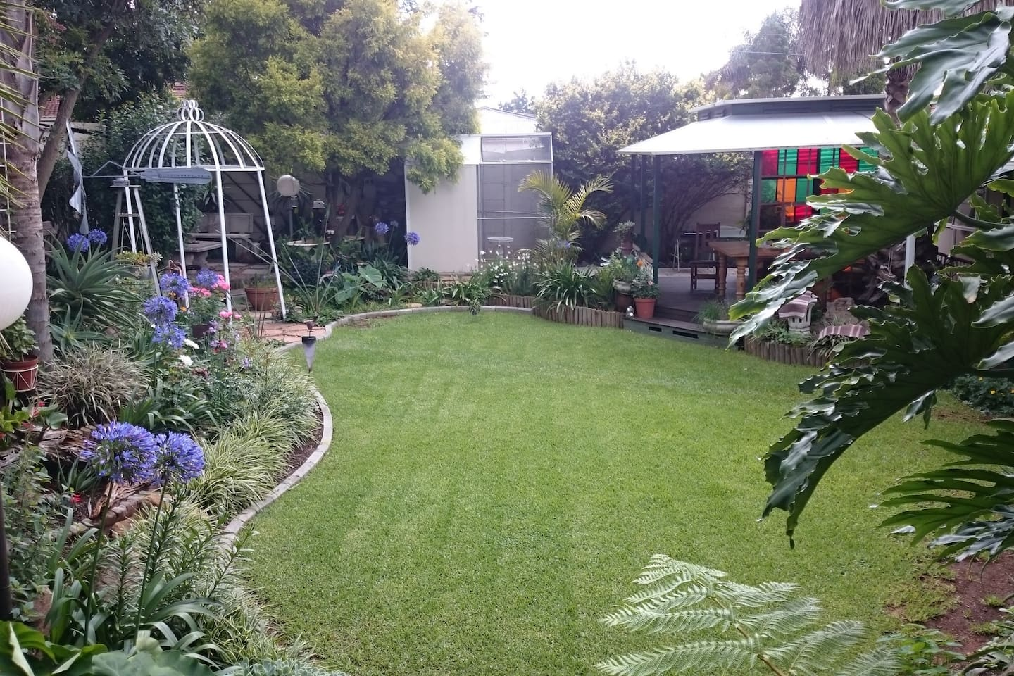 Relax and enjoy our garden with its many surprises
