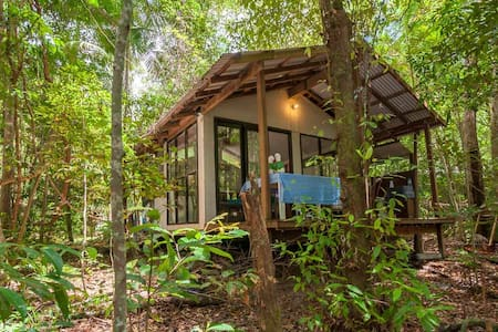 ❤️Private Rainforest Cottage within reach of beach