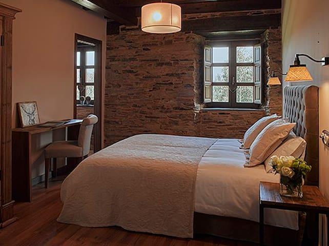 Habitación doble en un alojamiento rural exclusivo