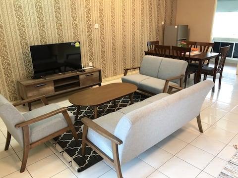 Spacious 3 Bedrooms Apartment