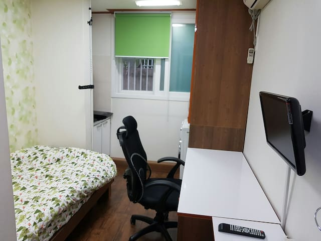 대전 충남대학교(CHUNGNAM UNIVERSITY)후문에서 5분,KAIST 7분 원룸^^ - Yuseong-gu - Bed & Breakfast