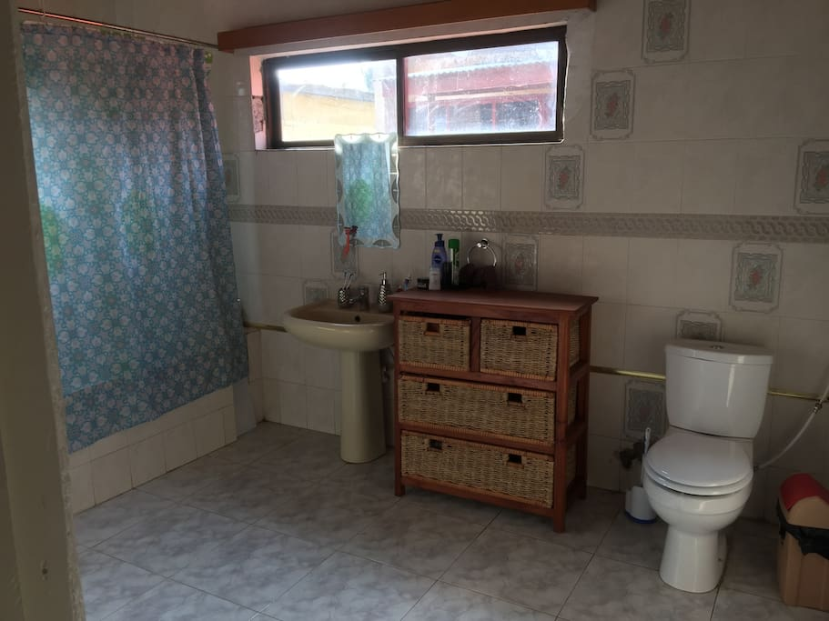 First washroom of the master bedroom