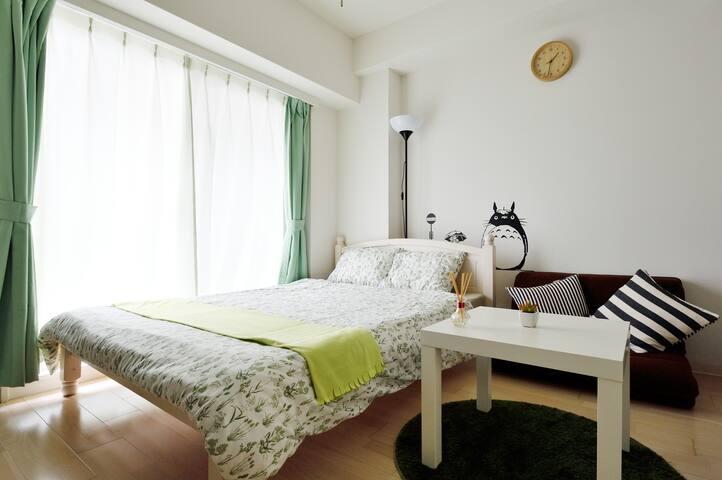 NewOpen!難波徒歩!Namba★TOTOROroom - 大阪市 - Apartamento