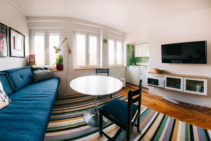 cozy studio apartment in center