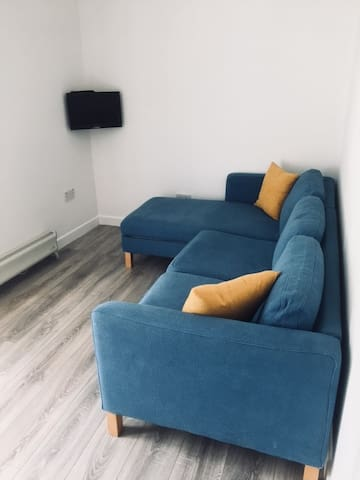 Lounge - Sofa (not a sofa bed), Small TV, Heater