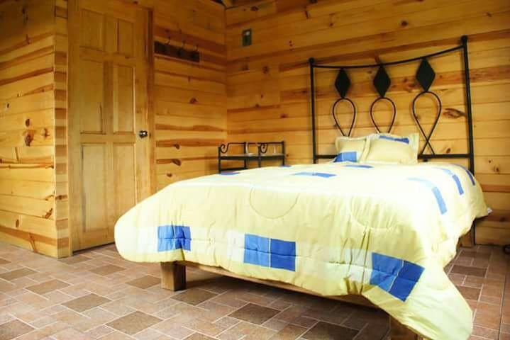 Bonitas y confortables cabañas.