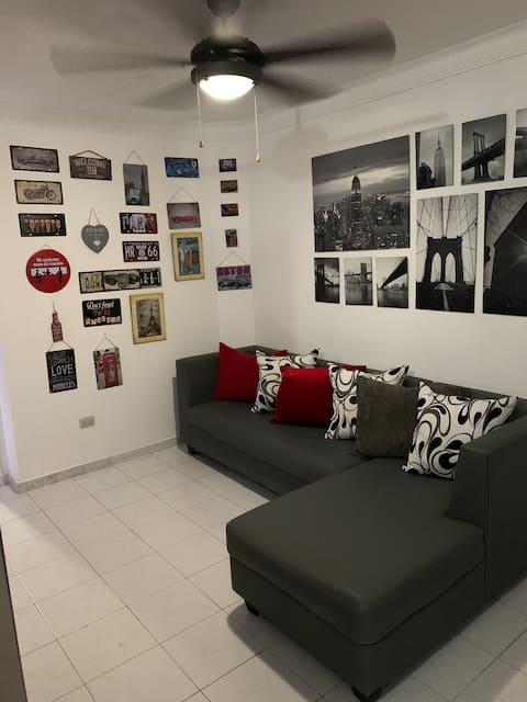 Suite 206 Avalon. aire central moder.con parqueo,