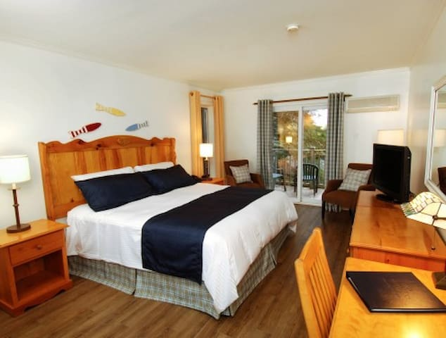 White Point Beach Resort Guest Room