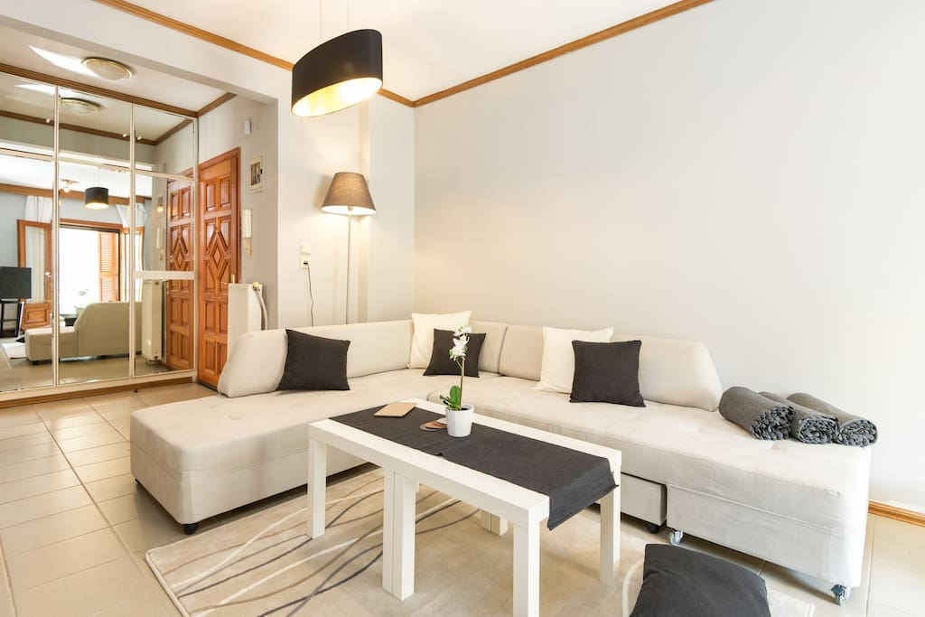 Spacious and luxurious flat in Thessaloniki