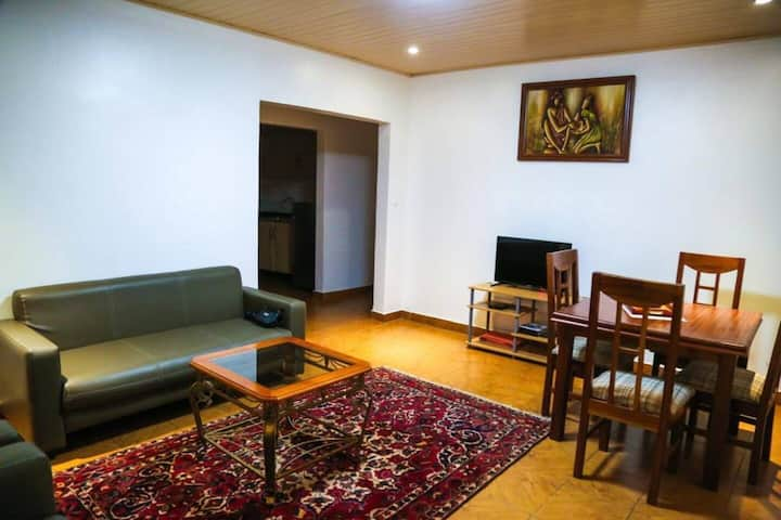 Cozy 1 bed appartement in kigali city centre.